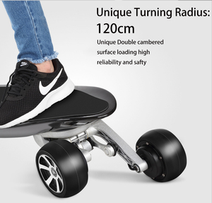 2018 the best dual hub brushless motor electric skateboard China wholesale all terrain electric skateboard offroad