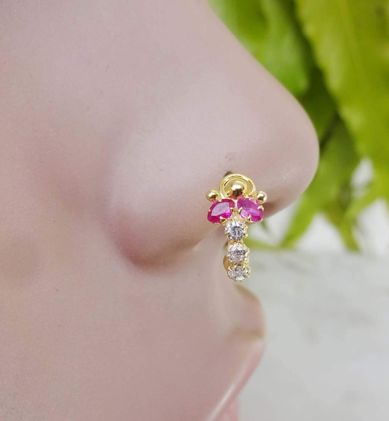 Cheap Diamond Nose Ring White Gold Find Diamond Nose Ring White
