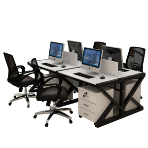 open office modern white executive desk set cable management carlo mollino cavour writing globe white with cabinet in wood