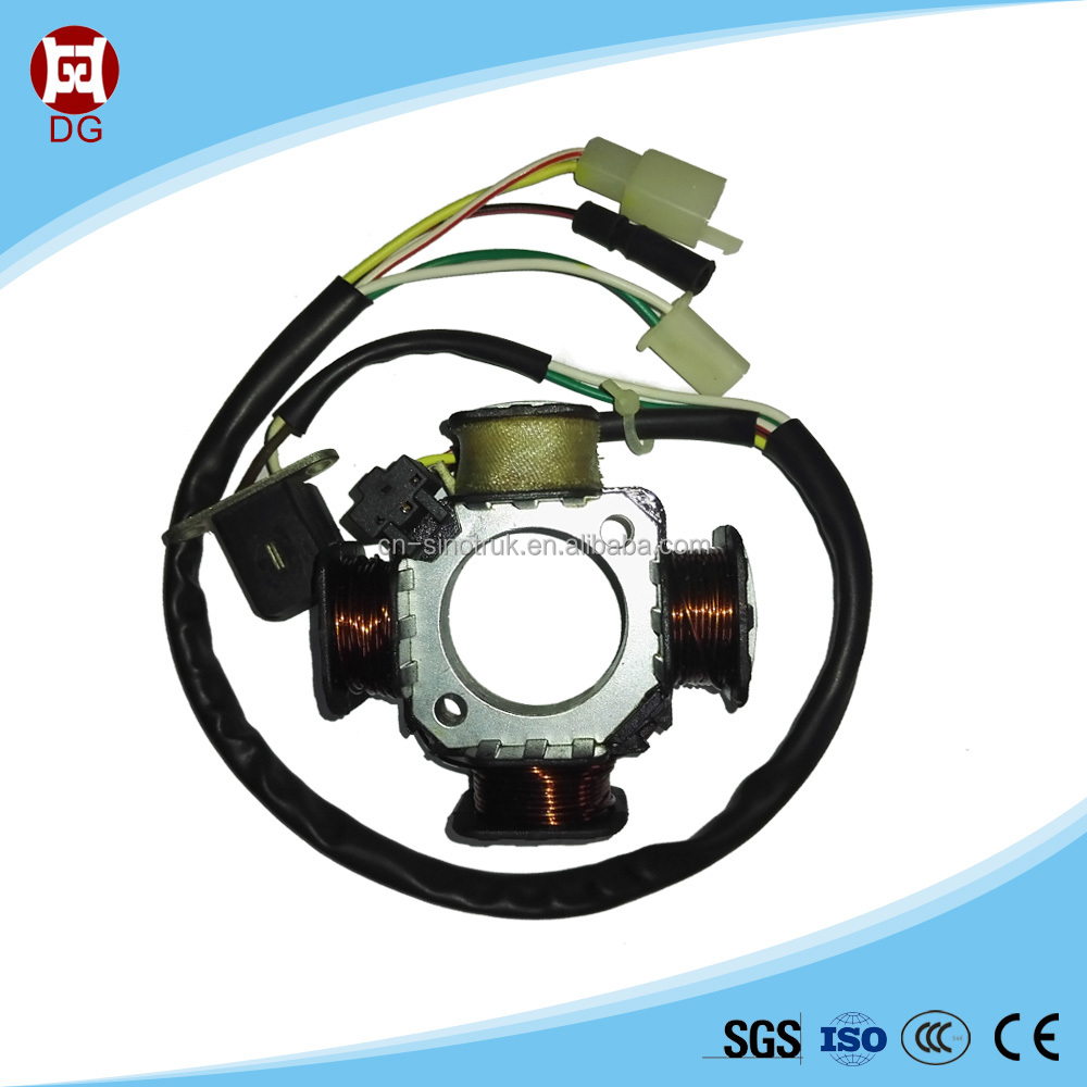 Chinese factory price, high quality motorcycle magneto stator coil for SUZUKI AG100