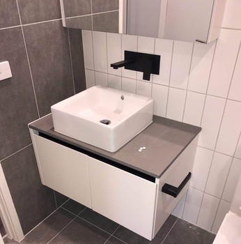 Modern Bathroom Design Led Mirror Cabinet Double Basin Mdf Pvc Laminate Furniture Bath Vanity Melamine Bathroom Vanity Buy Pvc Bathroom