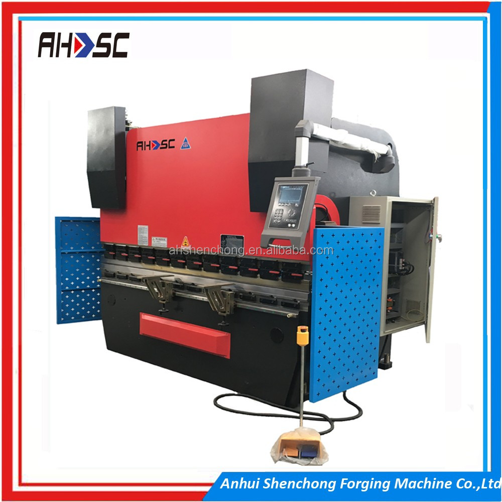 DA56s CNC Control System CNC Hydraulic Press Brake WC67K 200T 5000MM plate bending machine price list