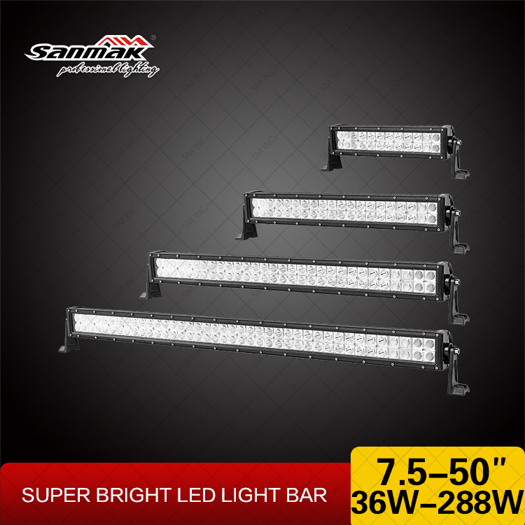 "13.5"" 72W Tractor light bar LED light bars for trucks"