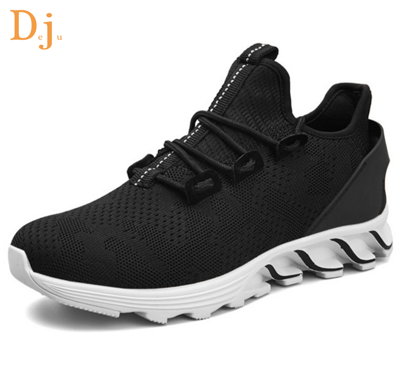 men running China shoes factory knitted upper 0aAAT4q