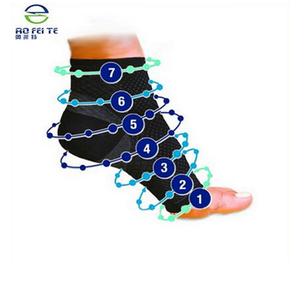 Aofeite Knitted Ankle Support/ Knitted Ankle Brace/ Ankle Socks With Three Colors