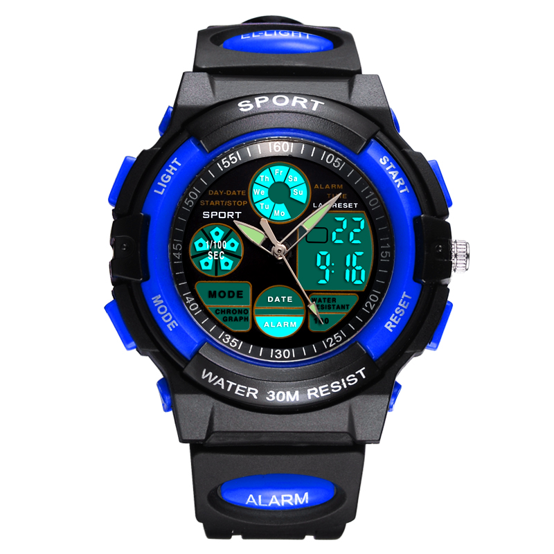 ODM Plastic Waterproof Digital Watches Sport