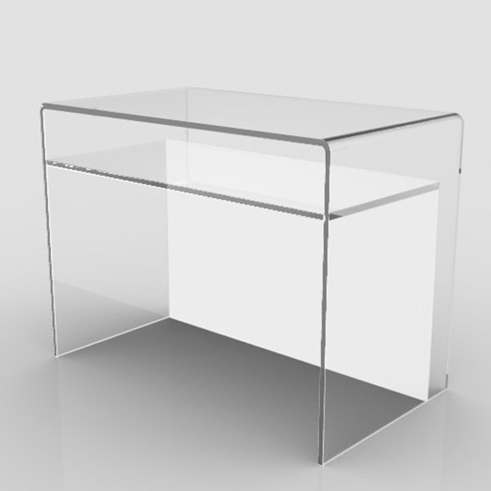 Acrylic console table with shelf acrylic console table with shelf acrylic console table with shelf acrylic console table with shelf suppliers and manufacturers at alibaba geotapseo Gallery