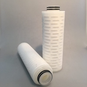 0.2 Micron PVDF Pleated Filter with effective Filteration Area for Pharmaceutical Industry
