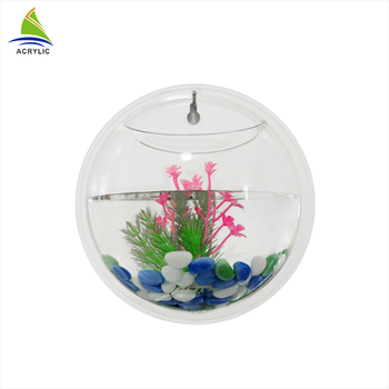 Customized Wall Mounted Clear Round Acrylic Fish Aquarium Buy Fish