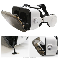 HOT! Factory Wholesale Google Cardboard Vr Headset Dropship 360 All-round View Of The Film Headset Device