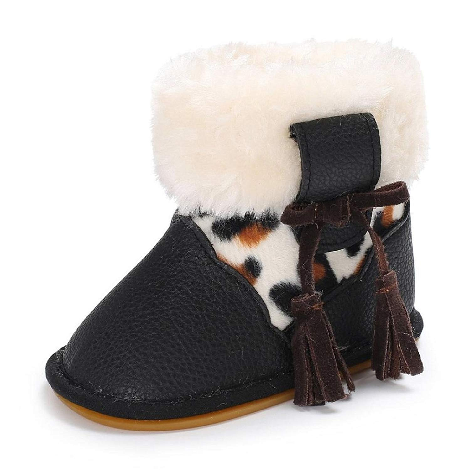 ec8f29f301ea9 Get Quotations · Appoi Winter Baby Girl Boy Soft Snow Boots Infant Toddler  Newborn Warm Shoes Snow Boots For