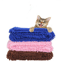 Microfiber water super absorbent pet towel,Pet water towel microfiber towels mat for pets