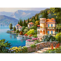 Frameless Venice Landscape DIY Painting By Numbers Acrylic Paint On Canvas Handpainted Oil Painting For Home