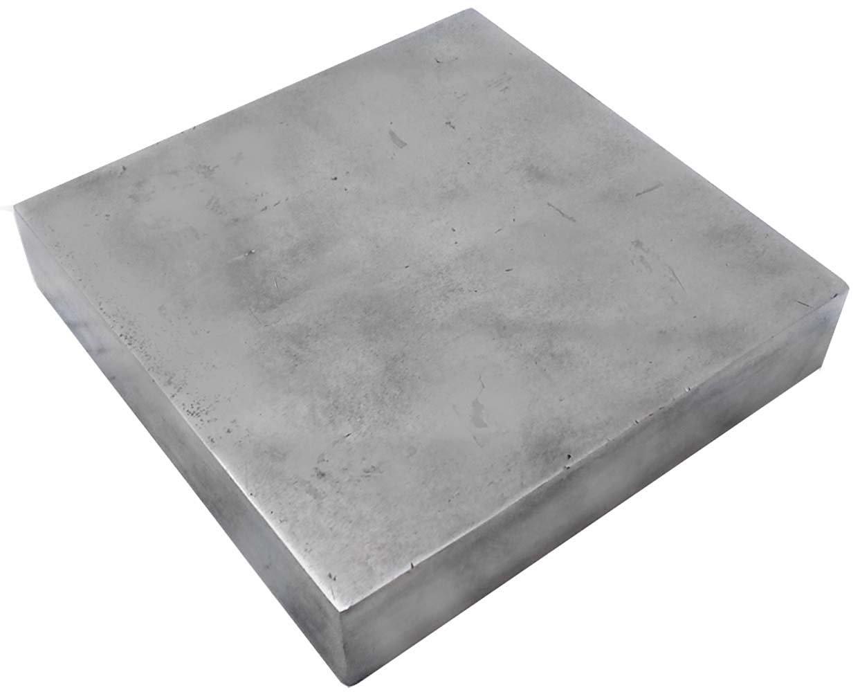 """4"""" X 4"""" X 3/4"""" Vanadium Steel Bench Block"""