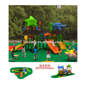 Xiujiang preshool outdoor playsets, playground equipment for kids(XJB02101)