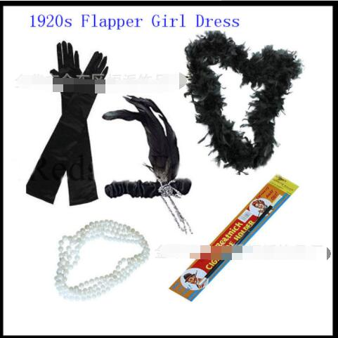 Ecoparty 1920s Accessories Flapper Costume Dress Up