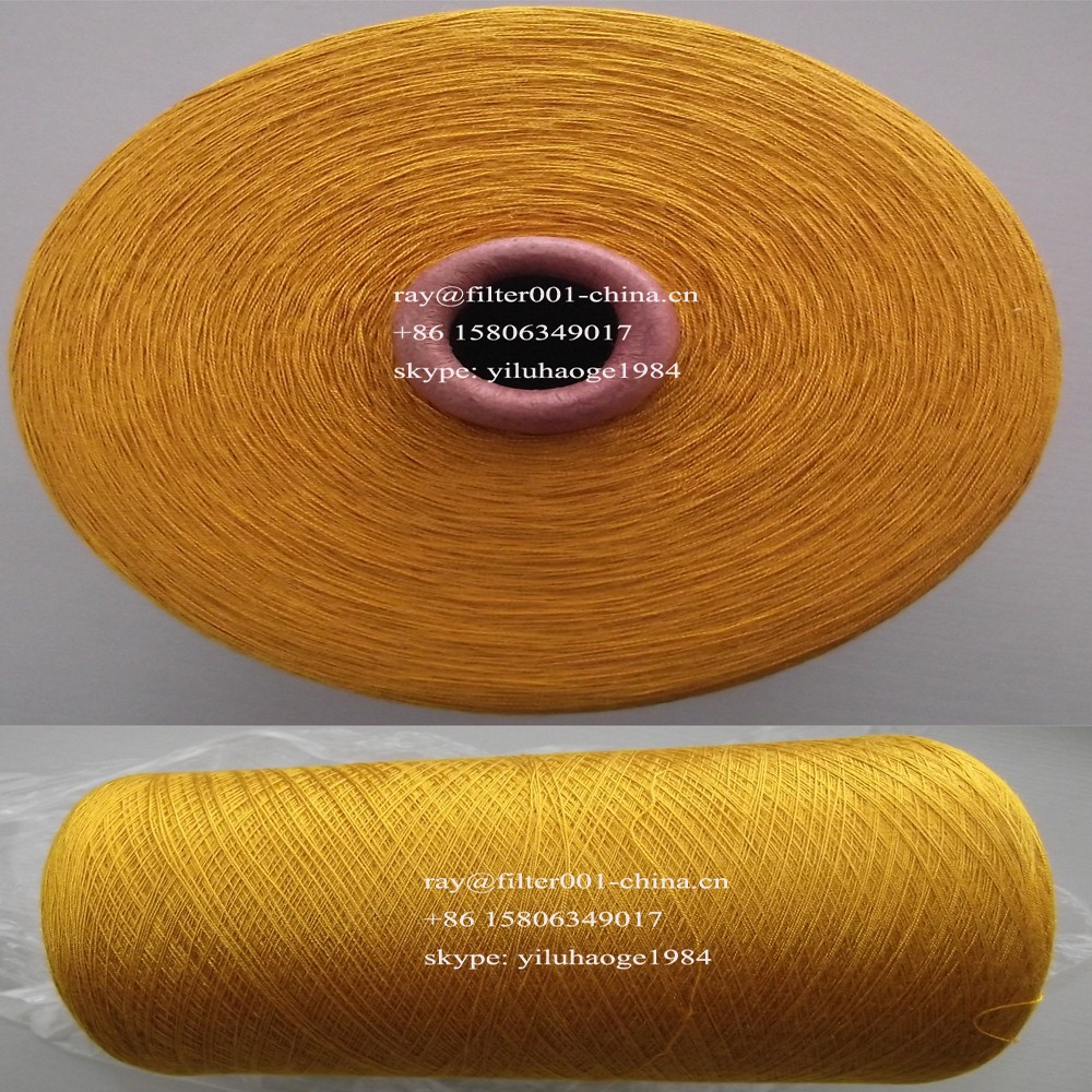 100% Polyimide Yarn 23s/2, 1.5dx51mm