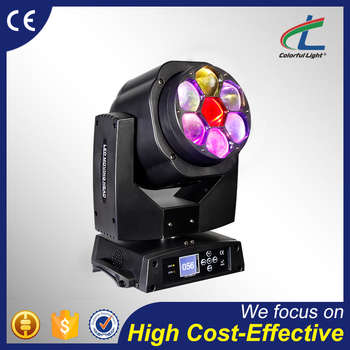 factory price 7x15W dj lighting zoom wash led moving head light