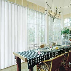 Good quality fabric to make vertical blinds PVC  blackout vertical blind  from iFamy
