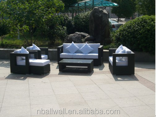 Bail outdoor synthetic plastic rattan garden outdoor furniture cheap importer AWRF5154