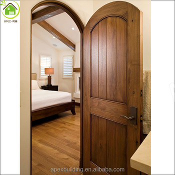 Mediterranean bedroom door design curved door arched wood door & Mediterranean Bedroom Door Design Curved Door Arched Wood Door ... Pezcame.Com