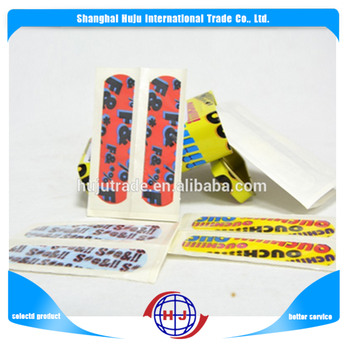2017 hot sell custom printed red band aid