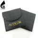 guangzhou gray luxury gift printed flap linen custom envelope velvet leather jewelry pouch