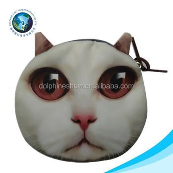 06029e3069bc Fashion Popupar Women Sling Bag Funny Cat Face Bag - Buy Cat ...