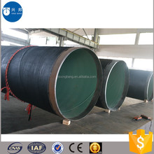 anti-corrosive pipe coated coal tar epoxy for water recycling industry pipeline