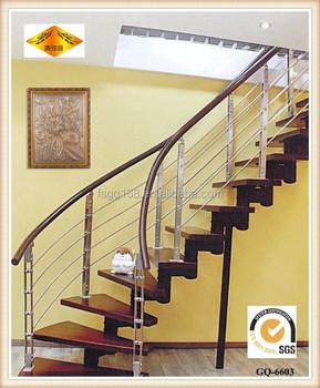 Beautiful Aluminium Stainless Steel Staircase Railing Design