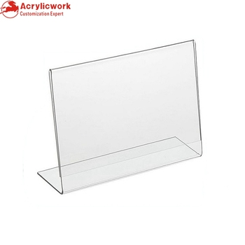 5x 3l shaped clear acrylic business card frames economical 5quotx 3quotl shaped clear acrylic business card frames economical horizontal table colourmoves