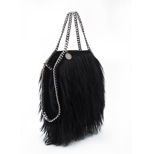 0ed35925e524 Ladies Hairy Shoulder Bag