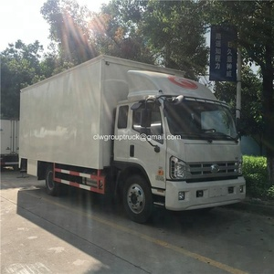 Rated 4000kg load white cargo van delivery truck price