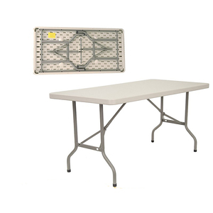 Genial 8ft Rectangular Folding Table