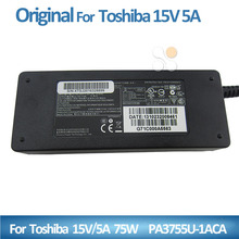 15V 5A 75W Laptop universal Charger for Toshiba laptops Power Adapter 6.0*3.0mm