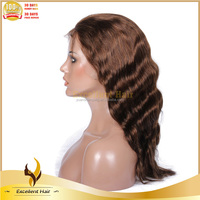 New 2013 Trade Assurance sale Fashionable deep wave 100% brazilian human kinky curly full lace wig for men