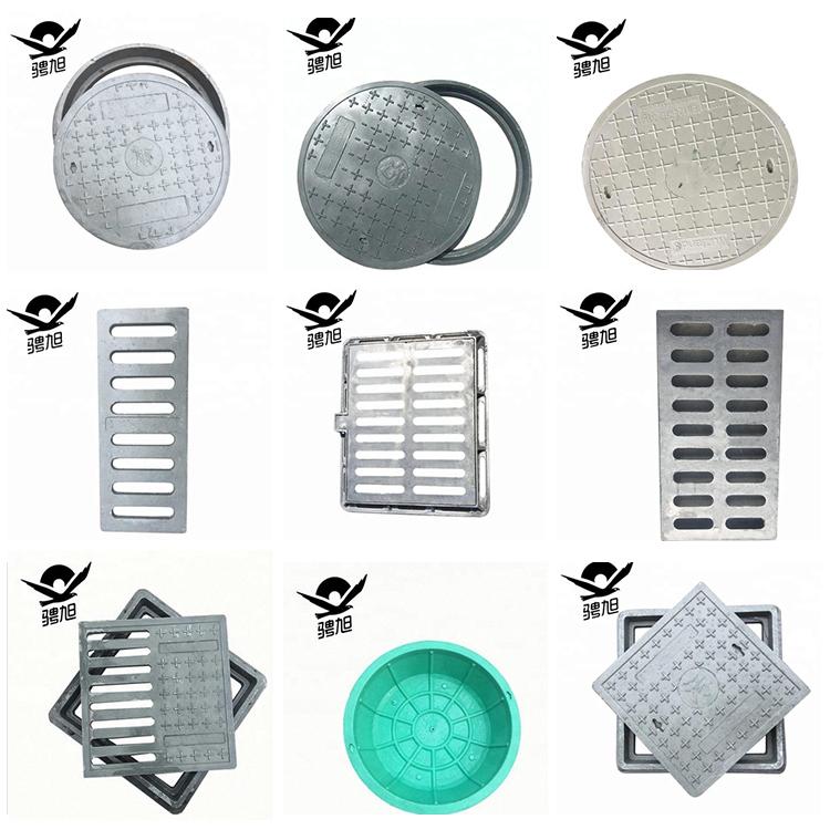 EN124 D400 dia 600 di bloccaggio baia di botola duttile del ferro manhole cover