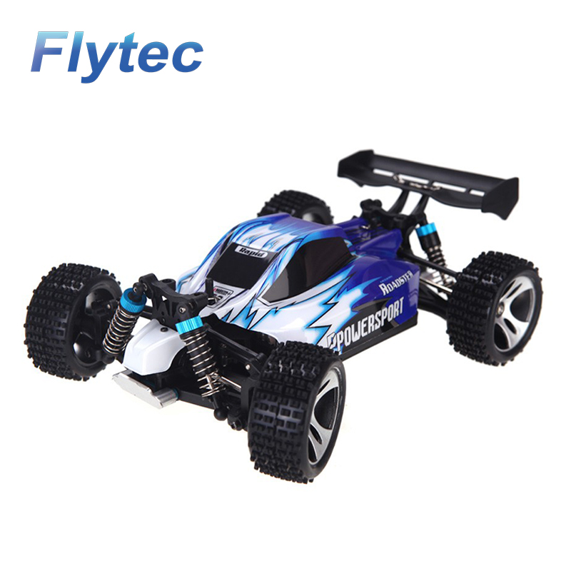 WL toy truck A959 2.4G 1 / 18 scale 4WD High speed Off Road RC Racing Car RTR for sale