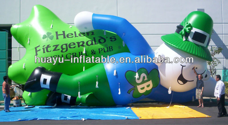 Helen Fitzgerald's Irish Gr Ill & Pub Inflatable Cartoon Characters Inflatable Advertising Cartoon Model Inflatable Fun City Toy