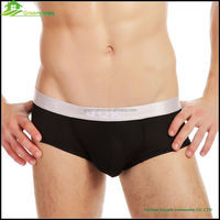 Comfortable seamless women G-string underwear men's underpant plain Boxer Shorts and spandex breathable mens brief custom GVYJ40