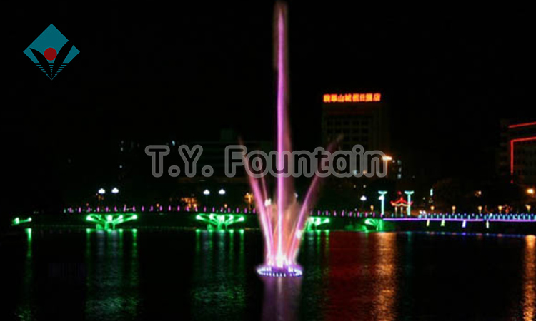 CE and ISO certified Music Fountain Lake Water Show