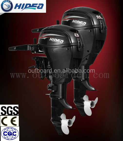 China Brand 9.9hp 4 stroke Outboard Motor/ Boat Engine from Hidea