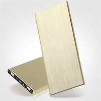 New design high-end Ultra thin power bank 10000mah OEM/new products 2016 portable power bank
