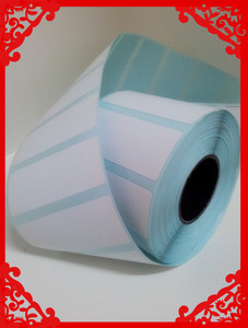 Blank thermal paper/blank adhesive label sticker