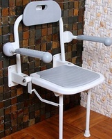 hot sale bath room handicapped wall folding chair