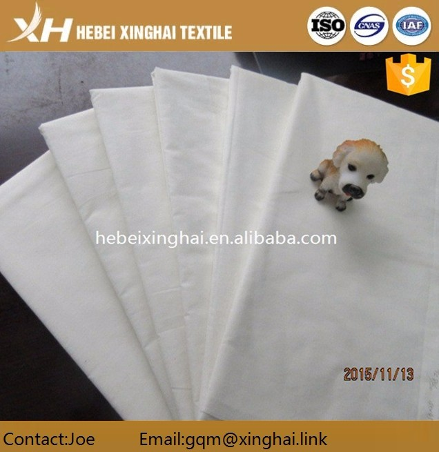 Bed line T/C 65/35 Grey Fabric from china of hebei