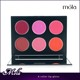 New design top quality plastic palette 6 colors your logo lipgloss color of lip gloss with mirror palette