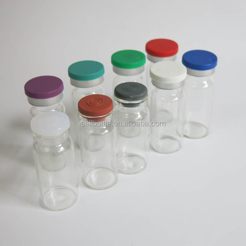 Borosilicate empty clear 10ML vial tube glass vial for steroids