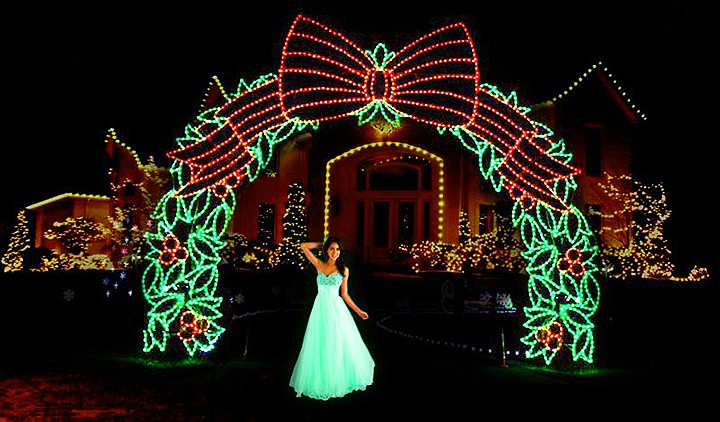 Wedding Party Led Light Decoration To Lover Heaven S Gate