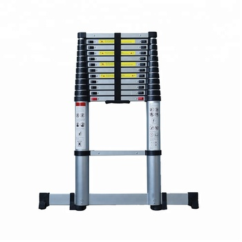 3 Section Aluminium Folding Extension Ladder A Frame Ladder En131-6 ...